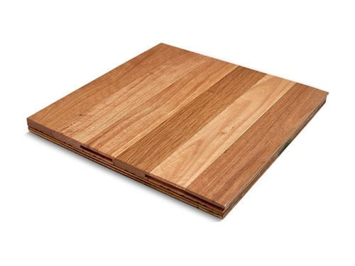 Australian Whites – Solid Timber Flooring – 80mm x 19mm side view