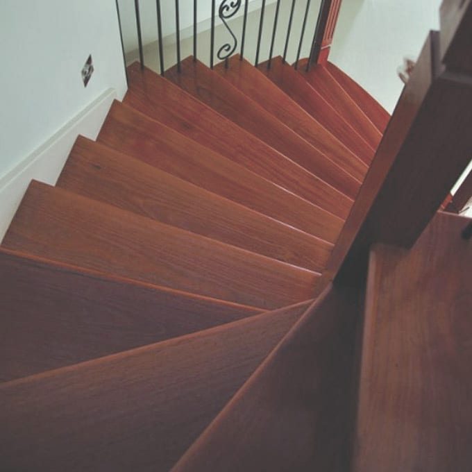 Blue Gum – Solid Timber Flooring – 80mm x 19mm stairs