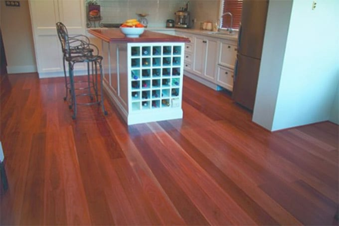 Turpentine Solid Timber Flooring – 80mm x 19mm room view