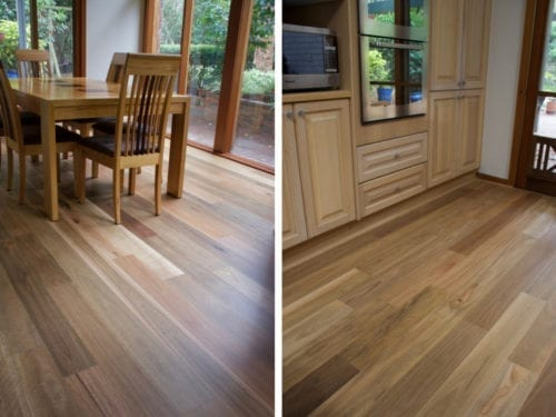Australian-Native-Spotted gum timber flooring room view