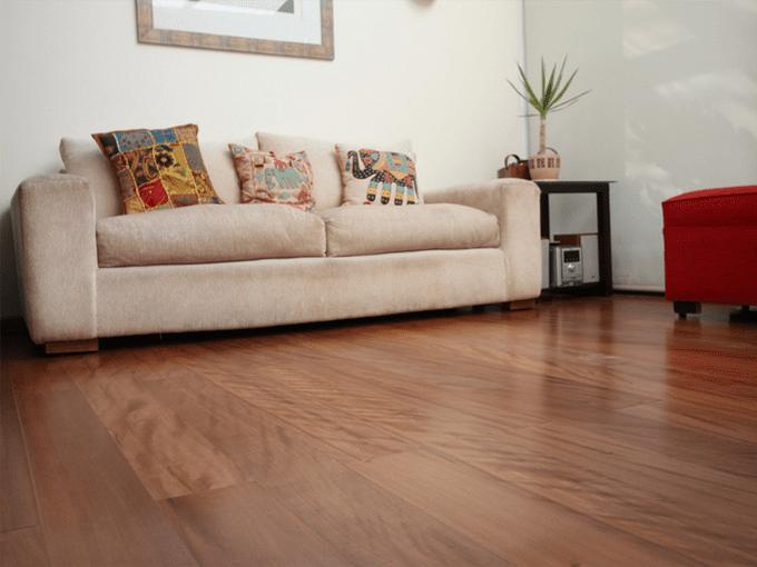 HM Walk - Brush Box - Engineered Timber Flooring room